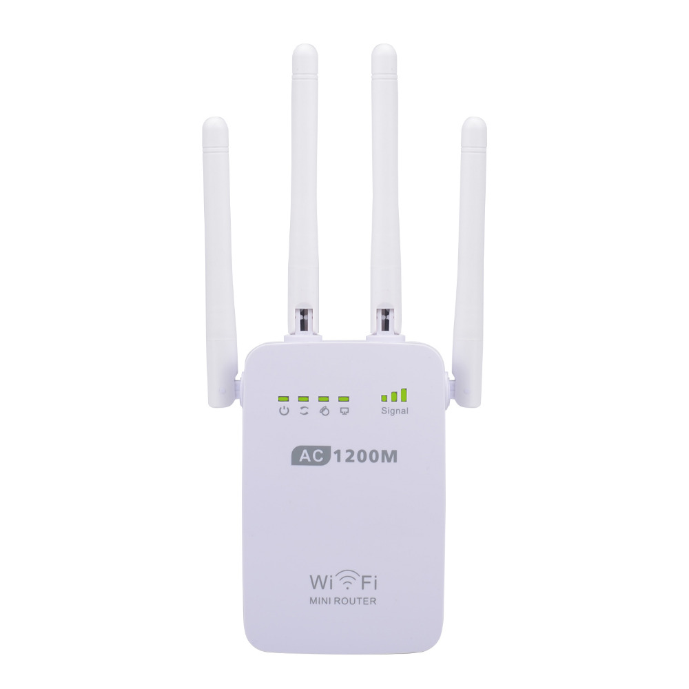PIXLINK AC1200 WIFI Repeater Router Access Point Wireless 1200Mbps Range Extender Wi Fi Signal Amplifier 4