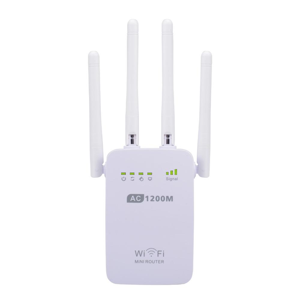 Prix pour Pixlink ac1200 wifi répéteur/routeur/point d'accès sans fil 1200 mbps range extender signal wi-fi amplificateur 4 antennes externes
