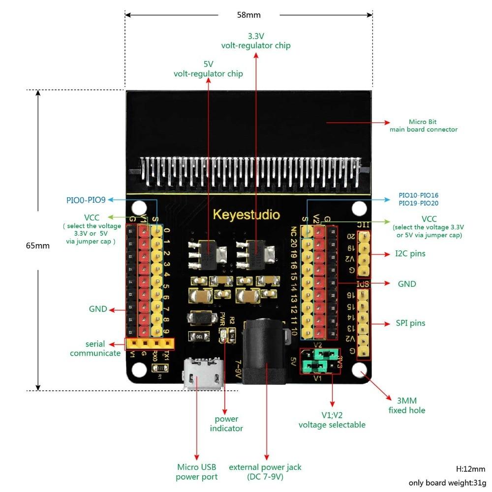 KS0360  micro bit V2 (4)