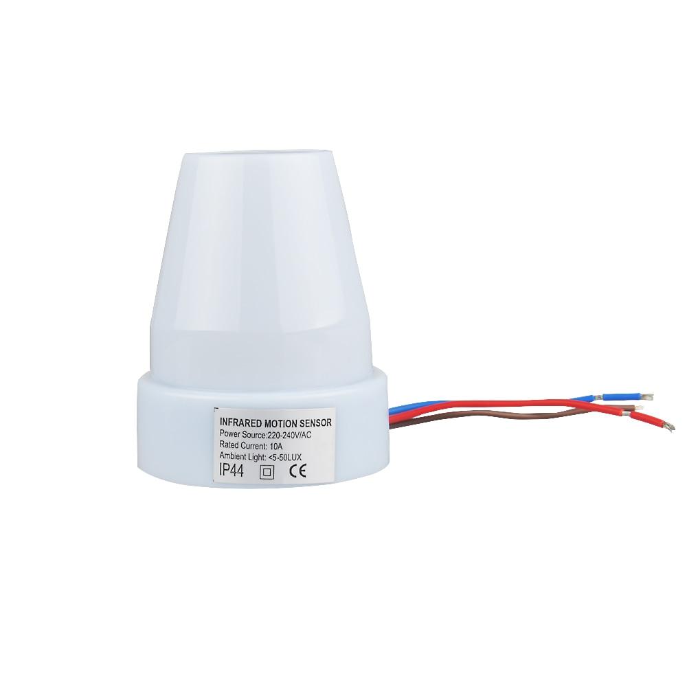 Sensky 220v 240v Ac Outdoor Ip44 Photoelectric Sensor Switch Light