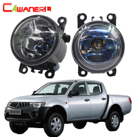 Cawanerl For Mitsubishi L200 KB T KA T Pickup 2005 2012 100W H11 Car Halogen Fog