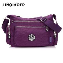 Fashion Womens handbags Nylon Canvas Waterproof Crossbody Bags Hand Women Bolsos Mujer Shoulder Bag