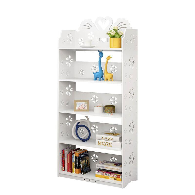 Children's bookshelf Simple primary school bookcase Economic racks Cartoon floor display rack Combination carved lockers children s bookcase shelf bookcase cartoon toys household plastic toy storage rack storage rack simple combination racks
