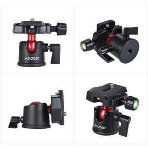 Image 3 - Andoer Mini Handheld Travel Tabletop Tripod Stand with Ball Head for iPhone for Samsung Huawei Honor 9  Smartphone for GoPro 5