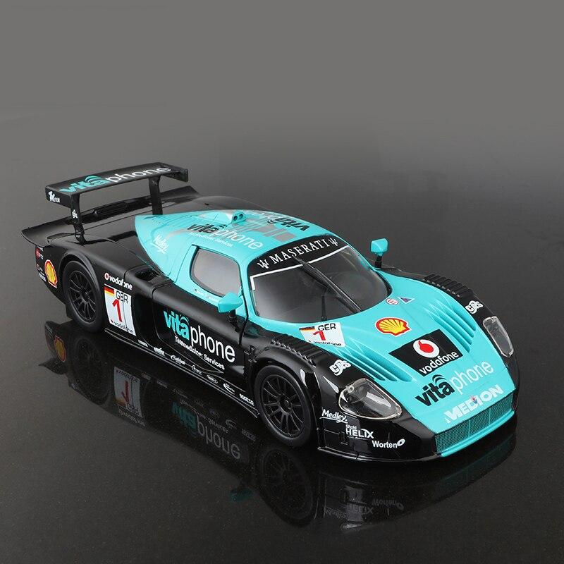 Bburago Mas MC12 GT1 FIA GT 1:24 alloy model car 1:24 Alloy Model Toy Vehicle Car Model Alloy Model Toys gift Toy car alloy