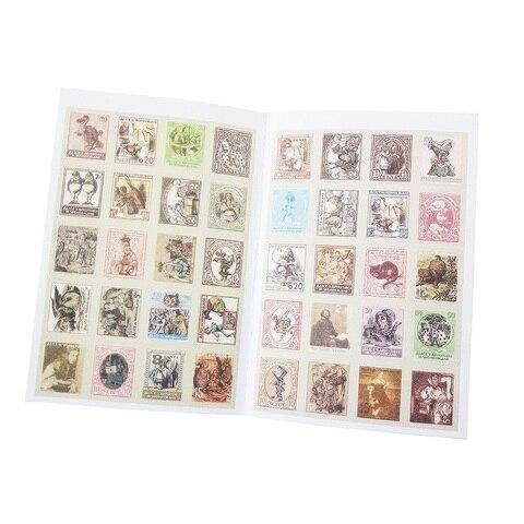 30 pacotes lote vintage folding selos adesivos