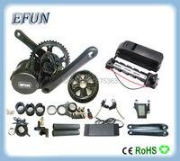 High Power 8Fun Bafang BBS01 36V 350W Mid Drive Motor Kits With 36V 13Ah USB Down