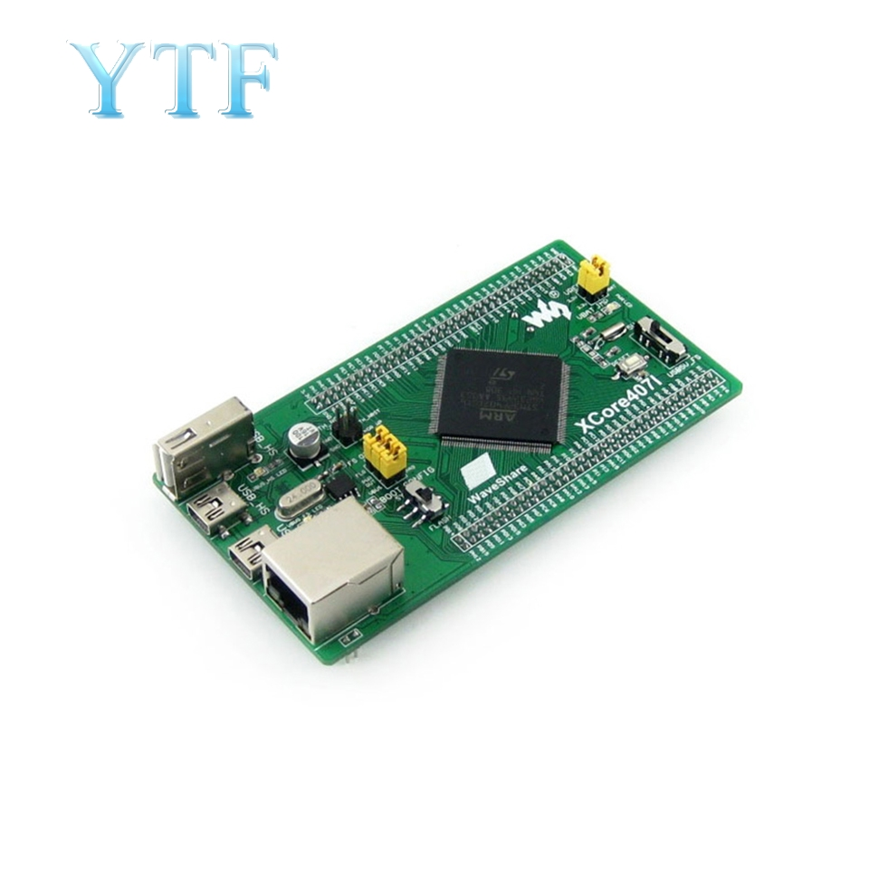 Free Shipping ST STM32F407IGT6 STM32 Development Board Core Board With Ethernet NandFlash