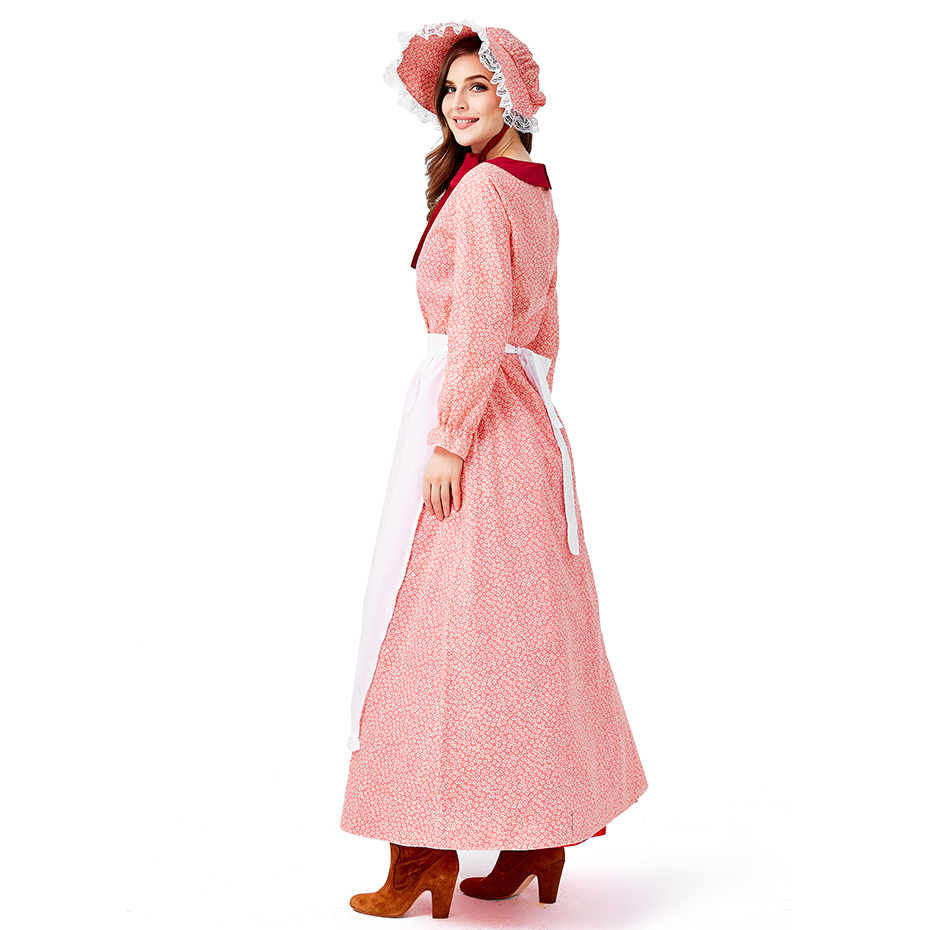 2019 new 19th century women 39 s wear Halloween USA California farm clothing bar party party dress show performance Halloween in Movie amp TV costumes from Novelty amp Special Use