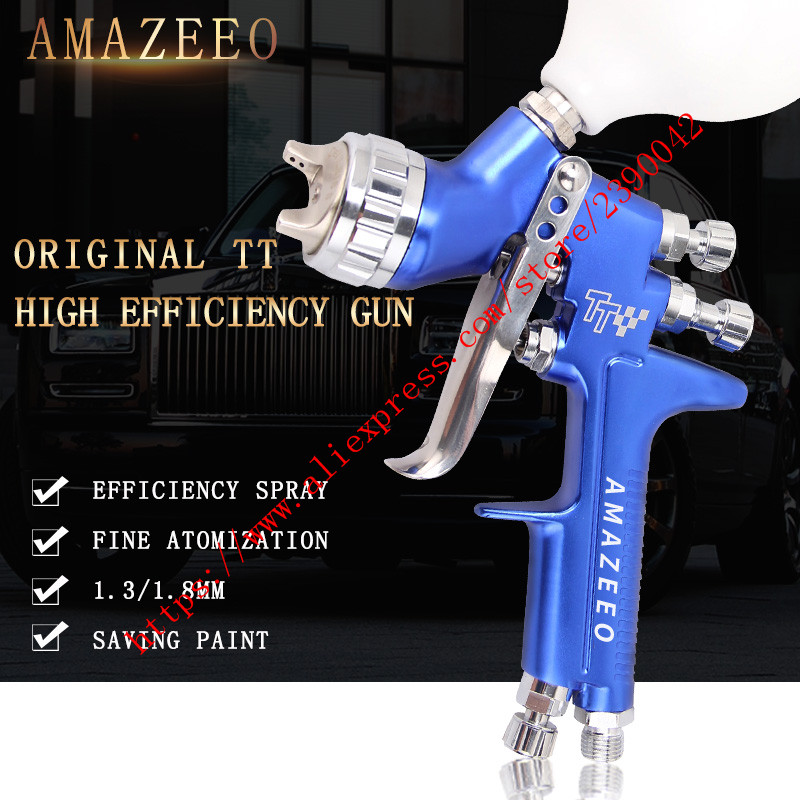 Professional HVLP LVMP Professional Car Gun GFG TT spray gun professional car auto paint furniture coating
