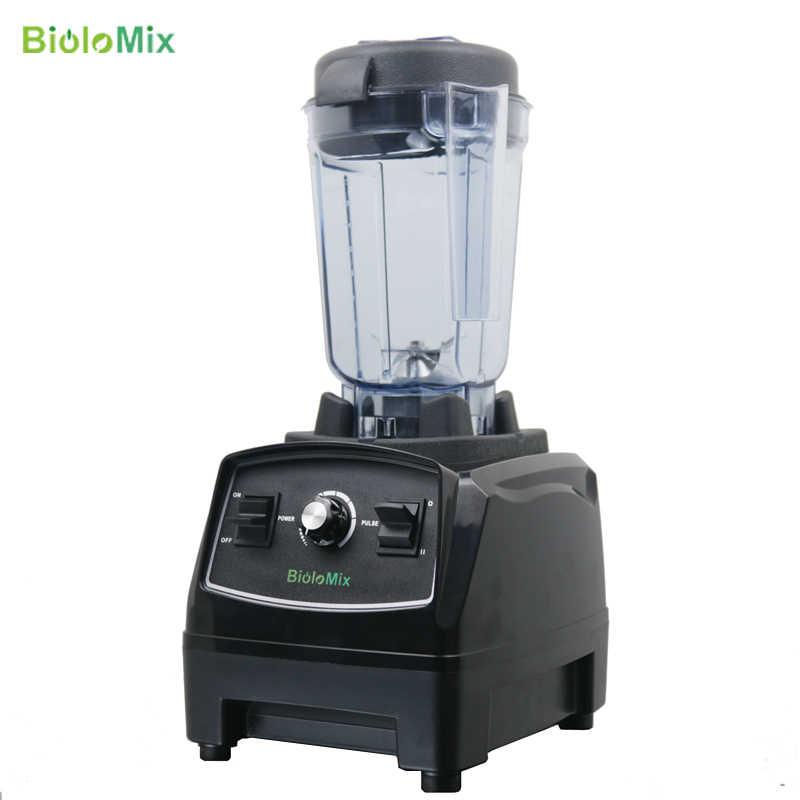 Biolomix 2200W 2L Bpa Gratis Commerciële Grade Thuis Professionele Smoothies Power Blender Voedsel Mixer Juicer Voedsel Fruit Processor