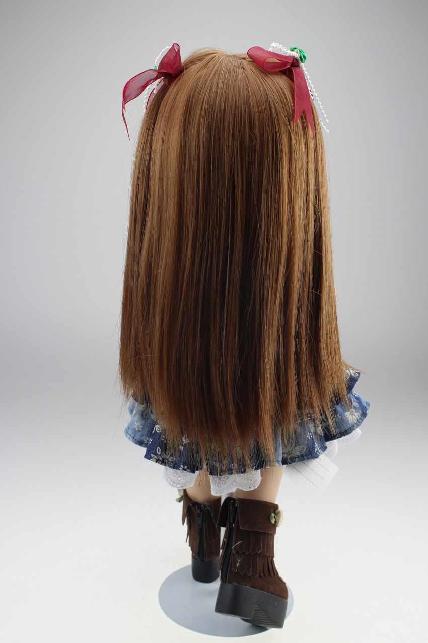 Красивые SD/БЖД кукла 18 дюймов американская жив BJD эльф ручной работы полный винил reborn Baby doll принцессы новорожденных bjd куклы для девочек