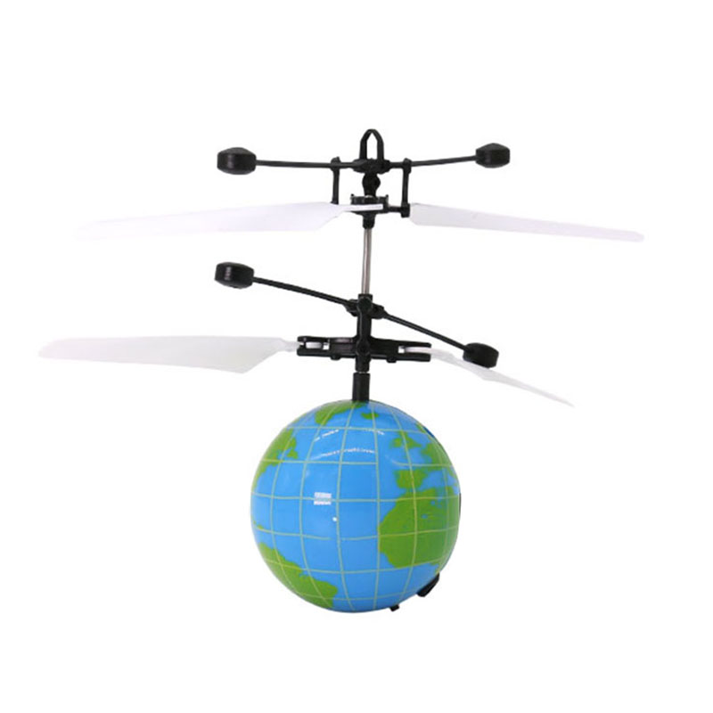 HOT SALE Infrared Induction font b Drone b font Flying Flash LED Lighting Ball Helicopter Child
