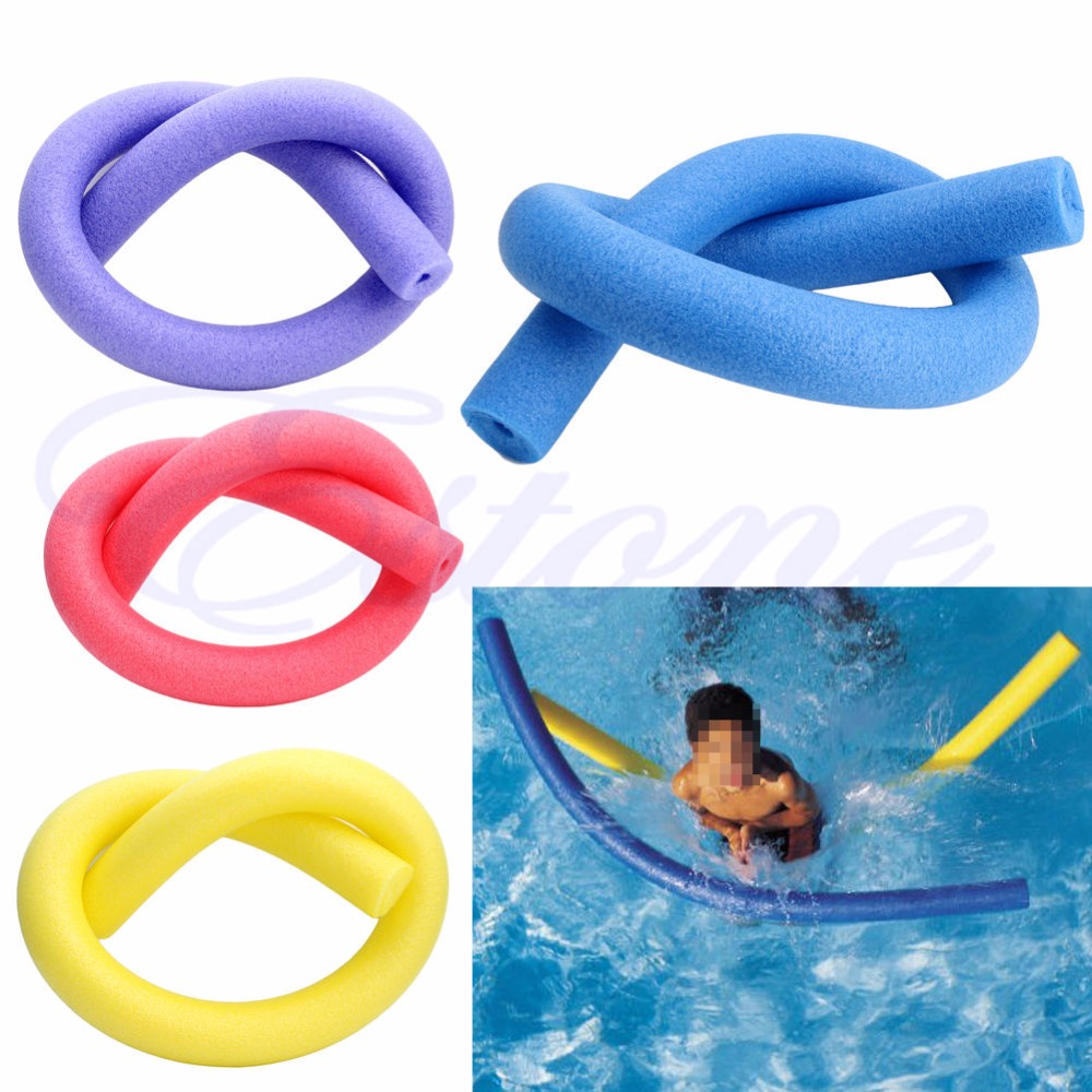 Hollow swimming swim pool noodle water float aid float for children and adult JP