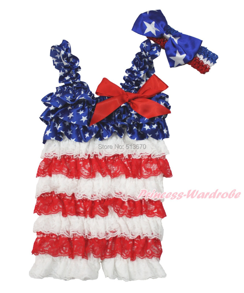 Popular Red White Blue Romper-Buy Cheap Red White Blue Romper lots ...