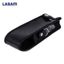 LASAM Erweiterte Leder Weiche Tasche für Baofeng UV 5R 3800 mAh Tragbares Radio Walkie Talkie UV 5R, UV 5R Plus, TYT TH UVF9 TH F8