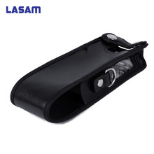 LASAM przedłużony skórzane miękkie skrzynki torba dla Baofeng UV 5R 3800 mAh radio przenośne Walkie Talkie UV 5R, UV 5R Plus, TYT TH UVF9 TH F8