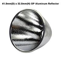 41.5 مللي متر (D) × 32.5 مللي متر (H) OP عاكس الألومنيوم