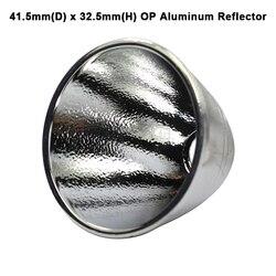 Odbłyśnik aluminiowy 41.5mm(D) x 32.5mm(H) OP