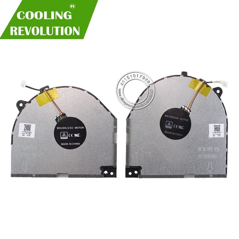 New Laptop Cooling Fan For Lenovo Savior Y530 Y7000 DFS200405CA0T-FKPW DC28000DKF1 DFS200105BR0T-FKPX DC28000DKF0