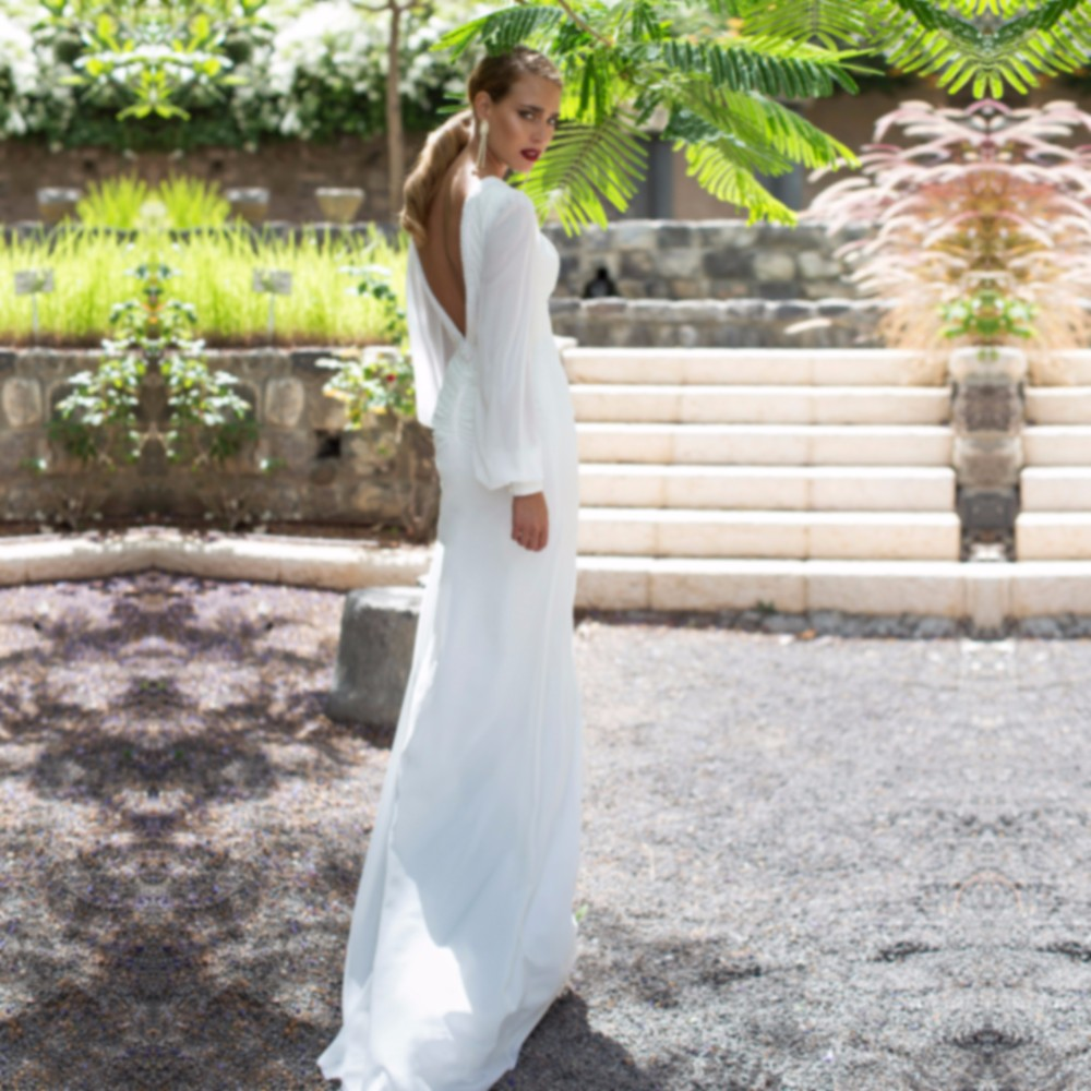 Sexy-Boho-Wedding-Dress-White-Beaded-Chiffon-Long-Sleeve-Backless-Women-Mermaid-Wedding-Dresses-Bohemian-Wedding (2)