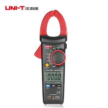 Uni T Ut213c LCD Digital Clamp Multimeters True Rms 600v 400A 10hz 1Mhz ac dc Current