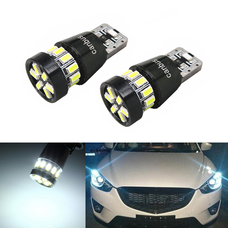 DOTAATDW 2x T10 W5W LED Wedge <font><b>Light</b></font> Marker Lamps Bulb For <font><b>Mazda</b></font> 323 626 cx-5 3 <font><b>6</b></font> 8 Atenza cx7 cx-7 mx5 cx3 rx8 cx5 image