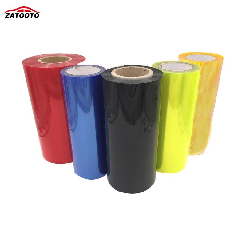 2000 30CM Wholesale Car lights Film Tint HeadLight Taillight Fog Protect Film Change Color Car