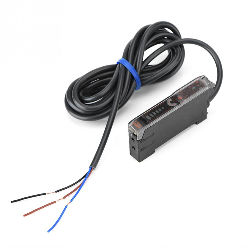 Kind-Hearted Plastic 10-30v Optic Fiber Amplifier Sensor Photoelectric Sensor 2018 New Style Photoelectrics Sensors