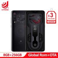 Official MIUI Global Rom Xiaomi Mi 9 MI9 Transparent 8GB 256GB Smartphone Snapdragon 855 6.39 48MP Camera 20W Wireless Charge