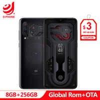 Officiel mi UI Global Rom Xiao mi mi 9 mi 9 Transparent 8 GB 128 GB Smartphone Snapdragon 855 6.39 48MP caméra 20 W Charge sans fil