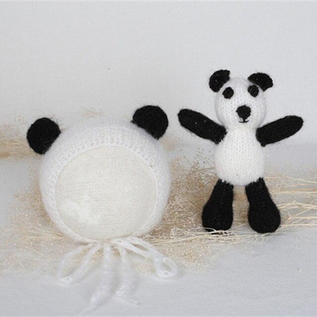 Baby Panda Hat: free crochet pattern | Crochet panda, Crochet kids ... | 640x640