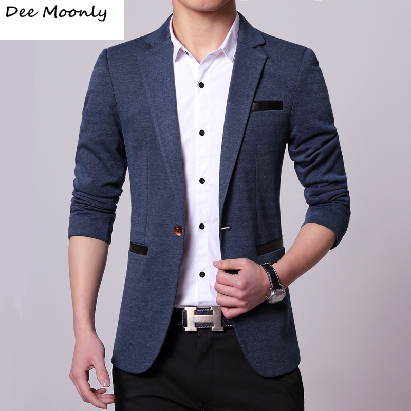 DEE MOONLY 2017 New Mens Casual Slim Fit Blazer Men Wedding Dress Blazer Jacket Mens Red Suit ...