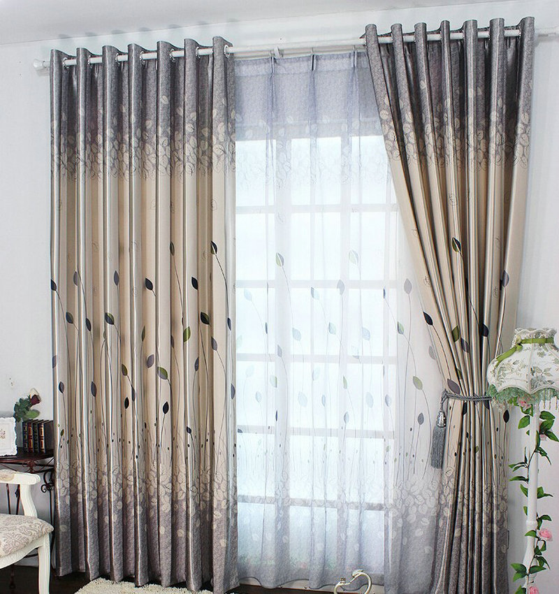 rustic window curtains for living room bedroom blackout curtains