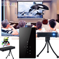 Dual más nuevo Wifi Inteligente Android 4.4 DLP Proyector Full HD 1080 Bluetooth 4.0 Android4.4 Business Home Theater Proyector Para IOS