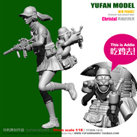 1/18 Running Elf Resin Soldier 90mm YFWW 1816