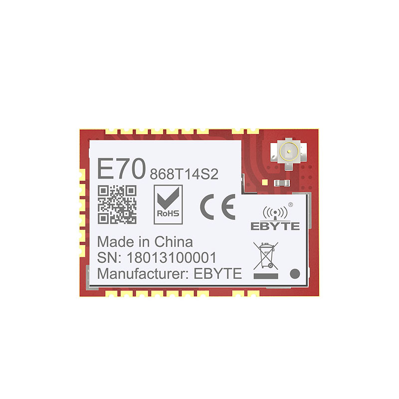 Image 2 - E70 868T14S2 CC1310 868MHz Wireless Serial Port 868M Module ARM Controller SoC Cortex M3 868MHz Transmit RFID-in Fixed Wireless Terminals from Cellphones & Telecommunications