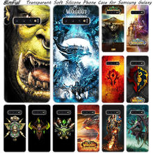 Panas World Of Warcraft Silikon Lembut Case untuk Samsung Galaxy S10 S9 S8 Plus S7 Edge A6 A8 Plus A7 a9 2018 A5 2017 Fashion Cover(China)