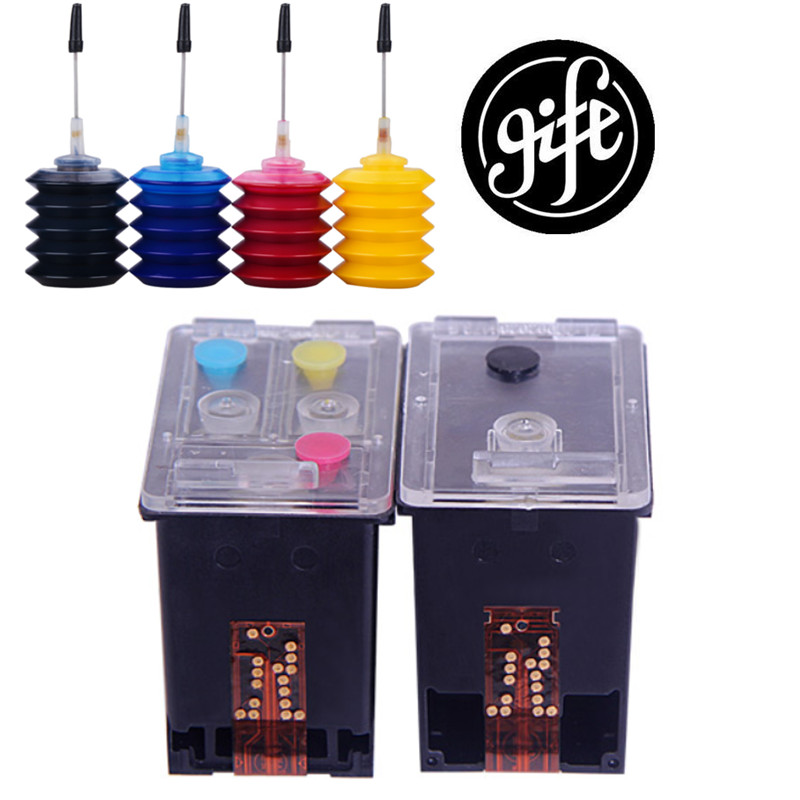 Popular in EUR 350 <font><b>351</b></font> Refillable Cartridge Replacement for <font><b>HP</b></font> 350 <font><b>351</b></font> Cartridge for Deskjet D4260 4260 D4360 C4200 C4480 C4280 image
