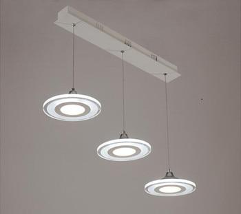 Светодиодные Современные подвесные светильники для столовой гостиной ресторана кухни светильники AC85-260V светильник lamparas подвесные лампы
