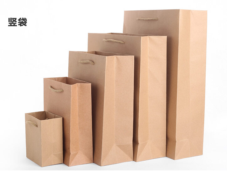 Custom paper grocery bags