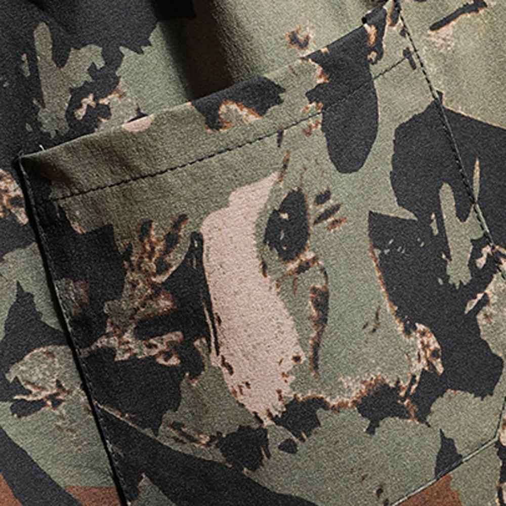 Sommer Männlichen Shorts Herren Neue Badehose Camouflage Print Grafik Casual Sportlich Strand Freizeit Shorts Gerade Mittlere Shorts