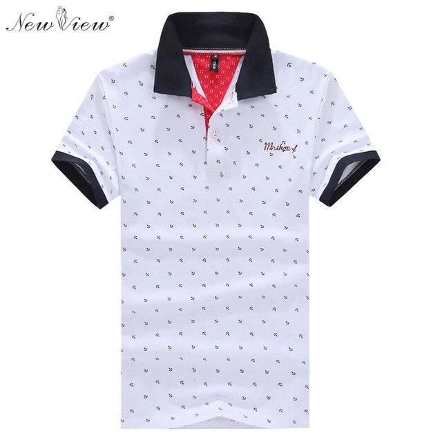 2017 Человек Одежда Мода Polo Рубашка Мужчины Лето С Коротким Рукавом Dot Одежда Повседневная Camisa Masculina Мужские Homme Теэ Вершины