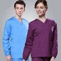 Новый 2017 Лето женщины больницы медицинского скраб одежда set fashionable design slim fit стоматологическая клиника салон красоты медсестра равномерной