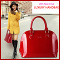 New 2015 Fashion Women Handbags Top Patent Leather Shoulder Bags Shell Women Messenger Bags Big Bag For Ladies Bolsas shell