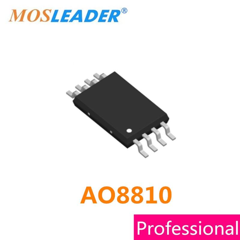 Mosleader AO8810 TSSOP8 100PCS 1000PCS 3000PCS 8810 Dual N-Channel 20V 7A High Quality Mosfets