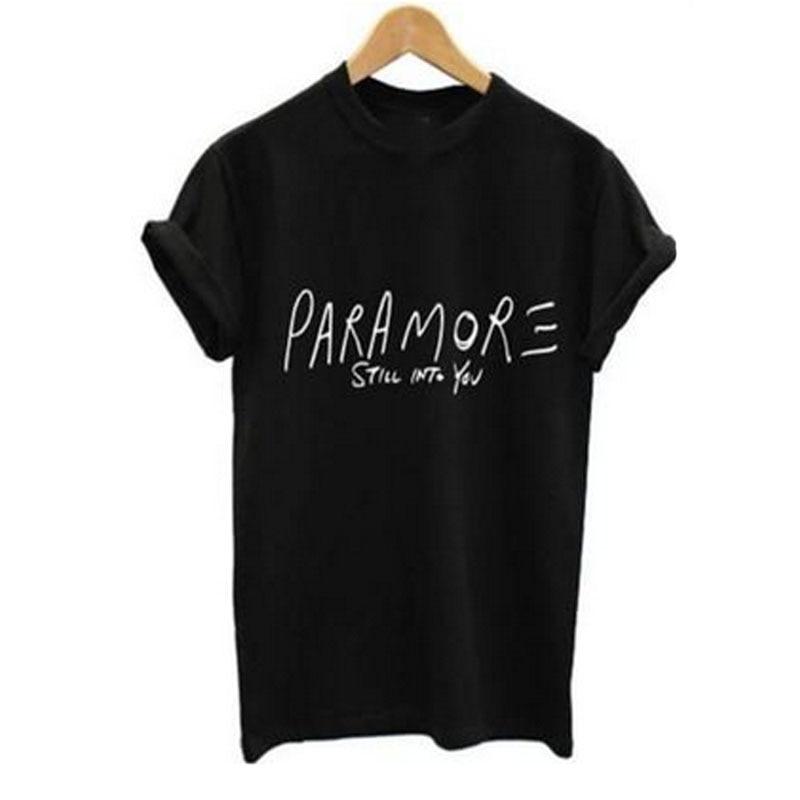Popular Paramore T Shirt-Buy Cheap Paramore T Shirt lots ... Paramore Merch