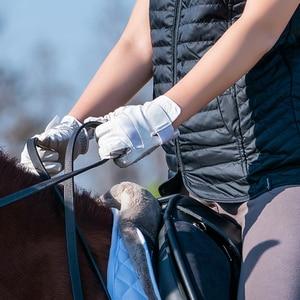 Image 5 - מקצועי כפפות רכיבה באיכות גבוהה סוס רכיבה כפפות ציוד עבור סוס רוכב ספורט בידור