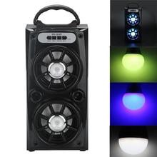 Finest Worth ! Multimedia Bluetooth Wi-fi Transportable Speaker Tremendous Bass with USB/TF/AUX/FM Radio Free Transport XP15M08