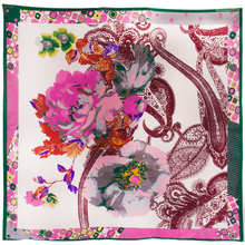 femmes Hijab Floral imprimé
